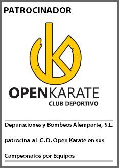 Patrocinio C.D. Open Karate